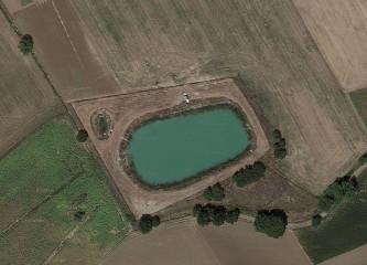Lago vista aerea