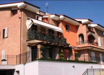 Prospetto Sud-Ovest Residenza I Girasoli - 2013